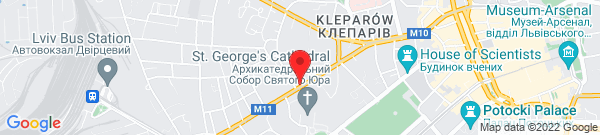 Google Map of 49.840371, 24.012276