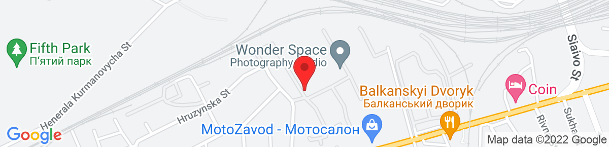 Google Map of 49.832402, 23.966342