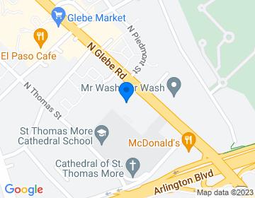 Google Map of 200 N Glebe Road Suite 250,Arlington, VA 22203