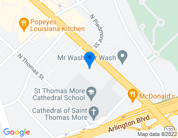 Google Map of <p><b>The Office of Human Resources</b><br />200 North Glebe Road, Suite 205<br />Arlington, Virginia 22203  </p>