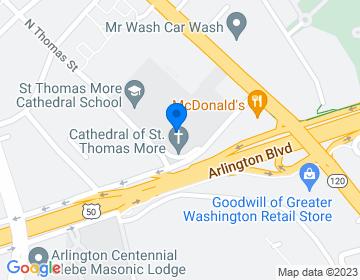 Google Map of <p>Dr. Richard Gibala<br />Director of Diocesan Choir<br />3901 Cathedral Lane<br />Arlington, VA 22203 </p>
