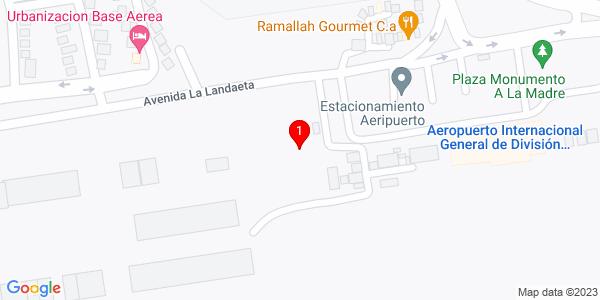 Google Map of Venezuela (Barquisimeto)