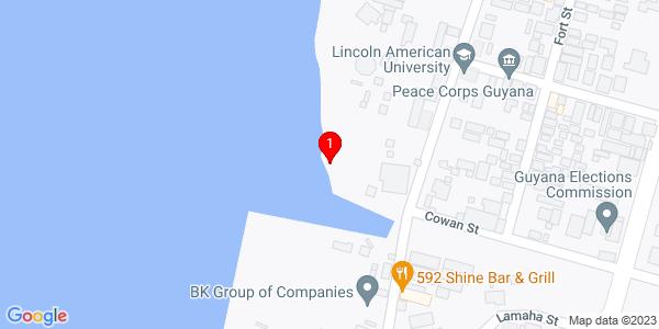 Google Map of Guyana
