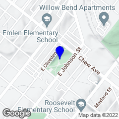 Google Map of 39.939472,-75.15823