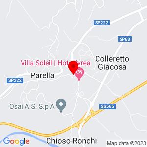 via Carandini, 40<br /> 10010 Parella<br /> Torino (TO)<br /> <br />