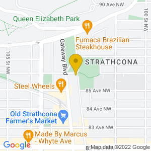 Map to Yardbird Suite provided by Google
