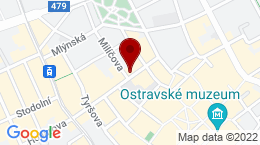 Google Map of Čs. legií 8, Ostrava