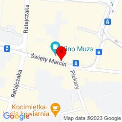 Google Map of Święty Marcin 28, Poznań