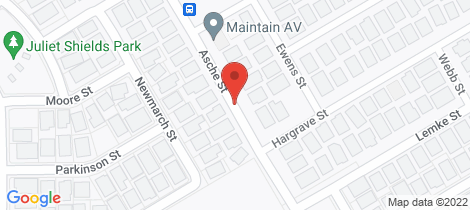 Location map for 99 Asche St Muirhead