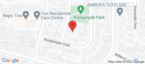 Location map for 4 Beetaloo St Tiwi