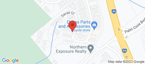 Location map for 1/1 Savaii Close Palm Cove
