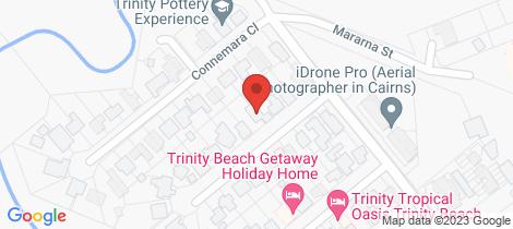 Location map for 8 Katandra Close Trinity Beach
