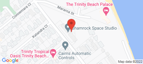 Location map for 21/110-118 Moore Street Trinity Beach