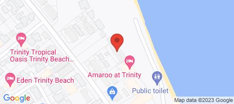 Location map for 5/96 Moore Street Trinity Beach