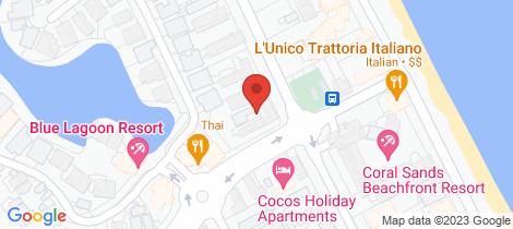 Location map for 7/63 Moore Street Trinity Beach