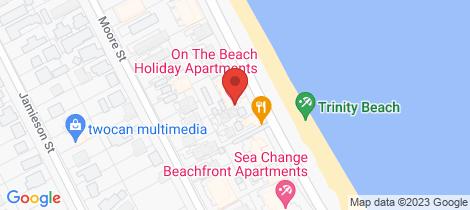 Location map for 16/49-51 Vasey Esplanade Trinity Beach
