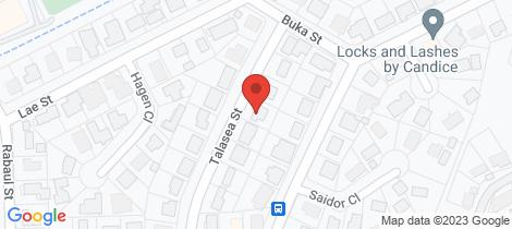 Location map for 9 Talasea Street Trinity Beach