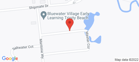 Location map for 5 Master Circuit Trinity Beach