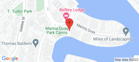 Location map for 27 Marina Quay Trinity Park