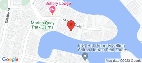 Location map for 19 Marina Quay Trinity Park