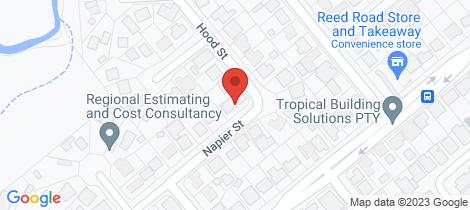 Location map for 1 Hood Street Trinity Park