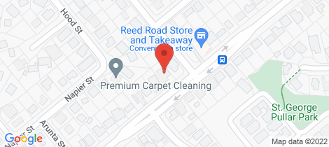 Location map for 124 Reed Road Trinity Park