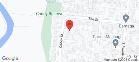 Location map for 12 Caddy Street Yorkeys Knob