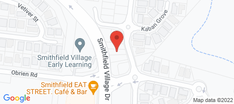 Location map for 20 Kingsborough Pass Trinity Park