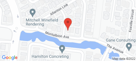 Location map for 8 Montalbion Avenue Trinity Park