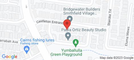 Location map for 12 Castleton Entrance Smithfield