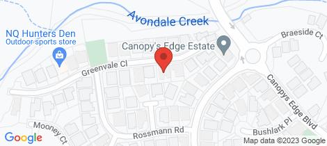 Location map for 9 Greenvale Close Smithfield