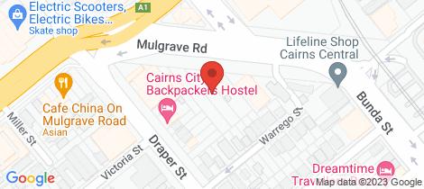 Location map for 59-61 Mulgrave Rd Parramatta Park