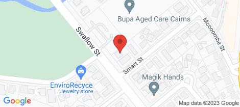 Location map for 50 Swallow Street Mooroobool