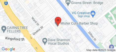 Location map for 70 Dalton Street Westcourt