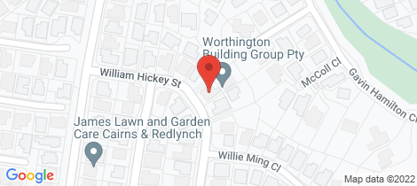 Location map for 25 William Hickey Street Redlynch