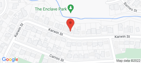 Location map for 40 Karwin Street Bayview Heights