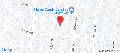 Location map for 86 Marti Street Bayview Heights