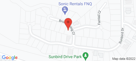 Location map for Lot 102/3-5 Bronzewing Close Woree