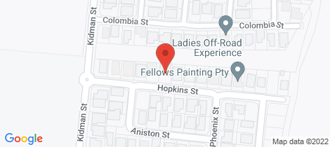 Location map for 11 Hopkins Street White Rock