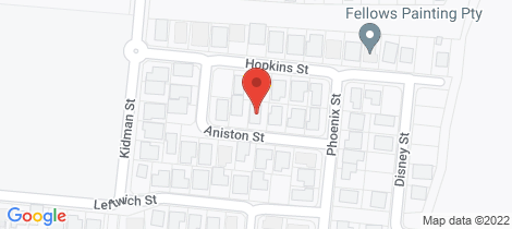 Location map for 7 Aniston Street White Rock