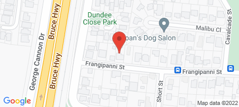 Location map for 9 Frangipanni Street White Rock