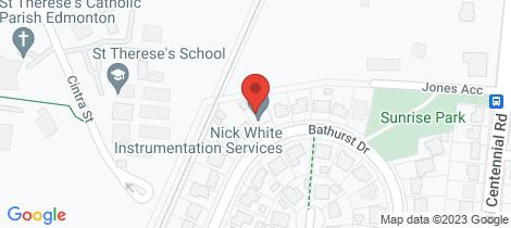 Location map for 43 Bathurst Drive Bentley Park