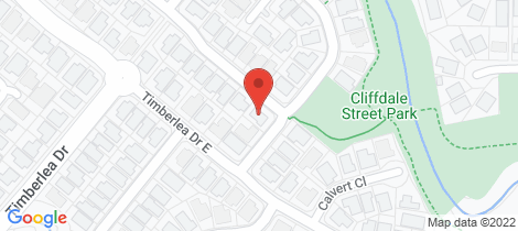 Location map for 5 Cliffdale Street Bentley Park