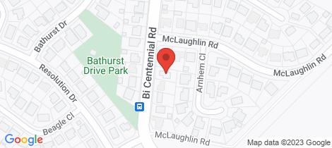 Location map for 10 Bi-Centennial Road Bentley Park