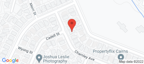 Location map for 30 Charnley Avenue Bentley Park