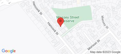 Location map for 50 Hancock Street Edmonton
