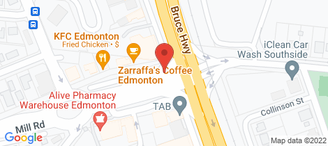 Location map for 8 Peat Close Edmonton