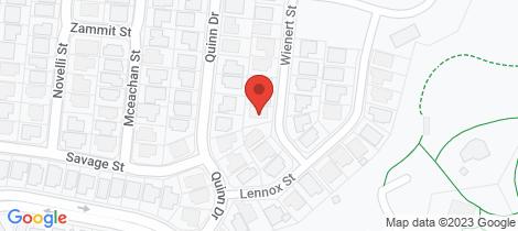 Location map for 7 Wienert Street Edmonton