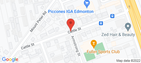 Location map for 21 Cattle Street Edmonton