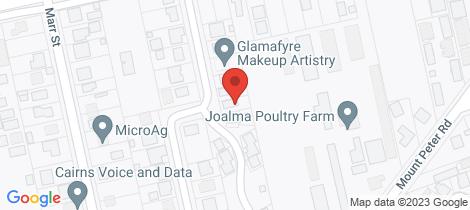 Location map for 26 Suhle Street Edmonton